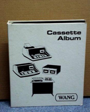 Wang 2200 Album per cassettes